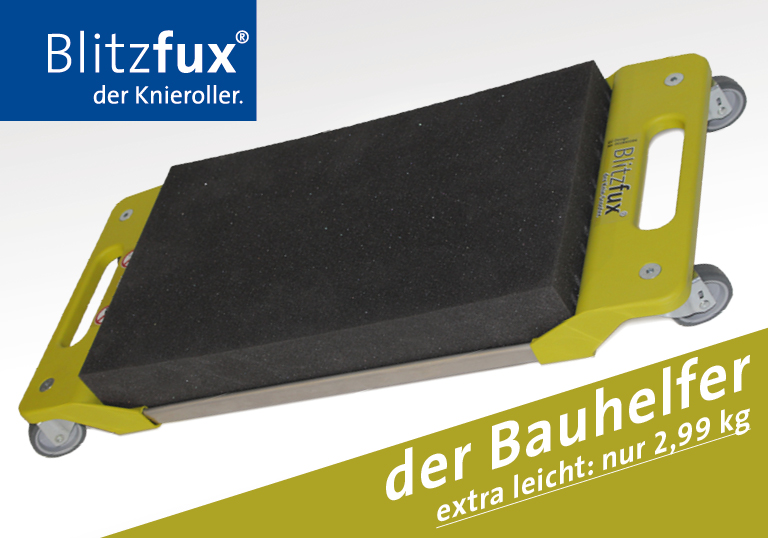 BLITZFUX® HYBRID Knieroller